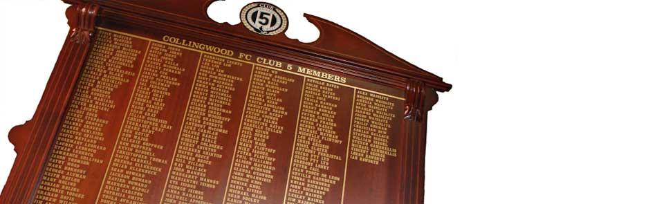 Honour Boards & Shields