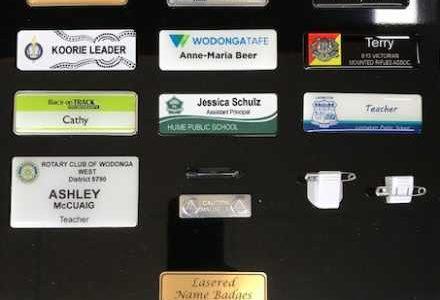 Name Badges & Club Badges
